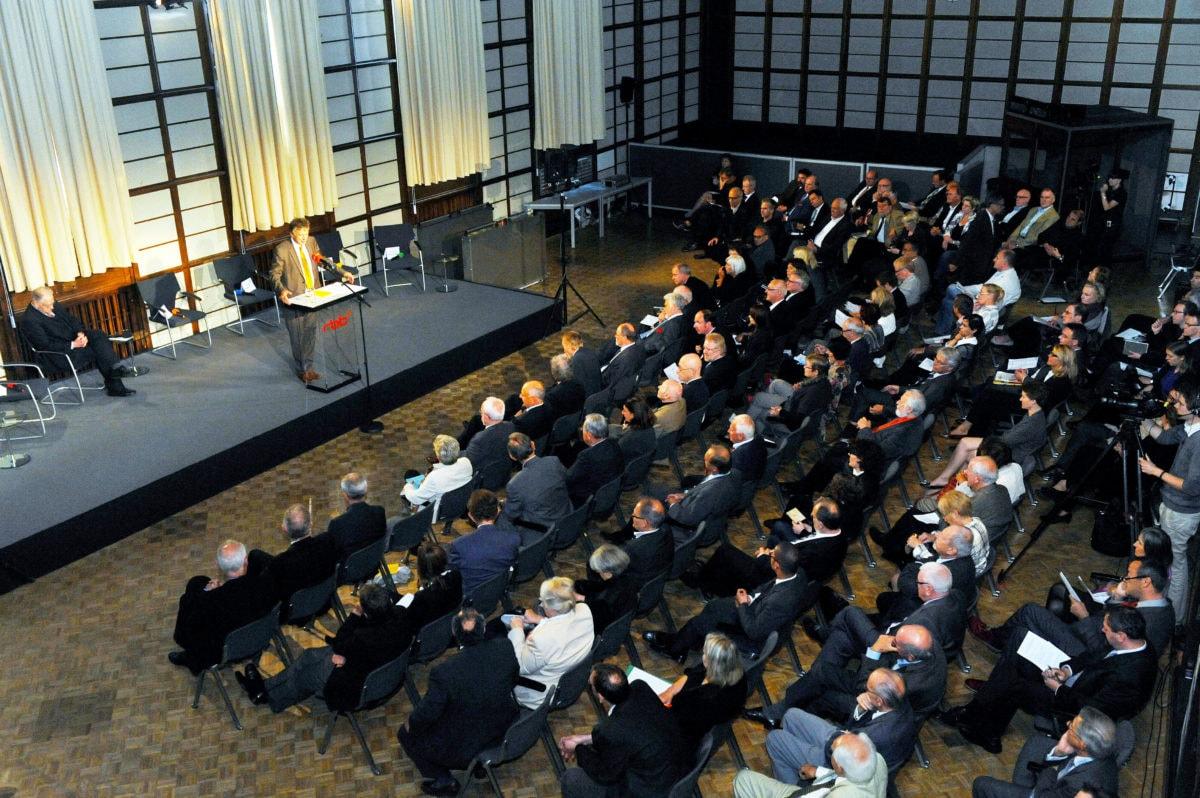 Symposium der Historischen Kommission am 13.09.2012 zum öffentlich-rechtlichen Rundfunk in den neuen Bundesländern. | Bildquelle: WDR/Oliver Ziebe