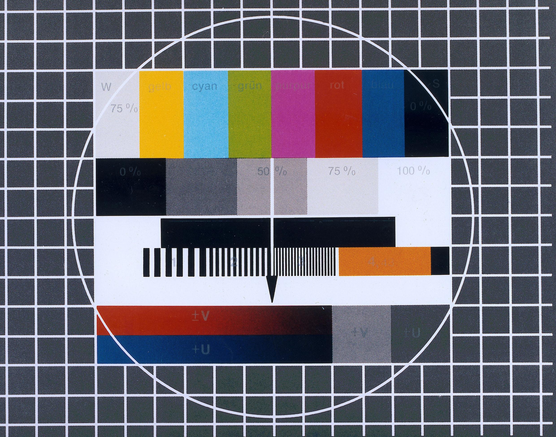 70 Jahre ARD: Testbild von 1971.   Bildquelle: WDR [A]