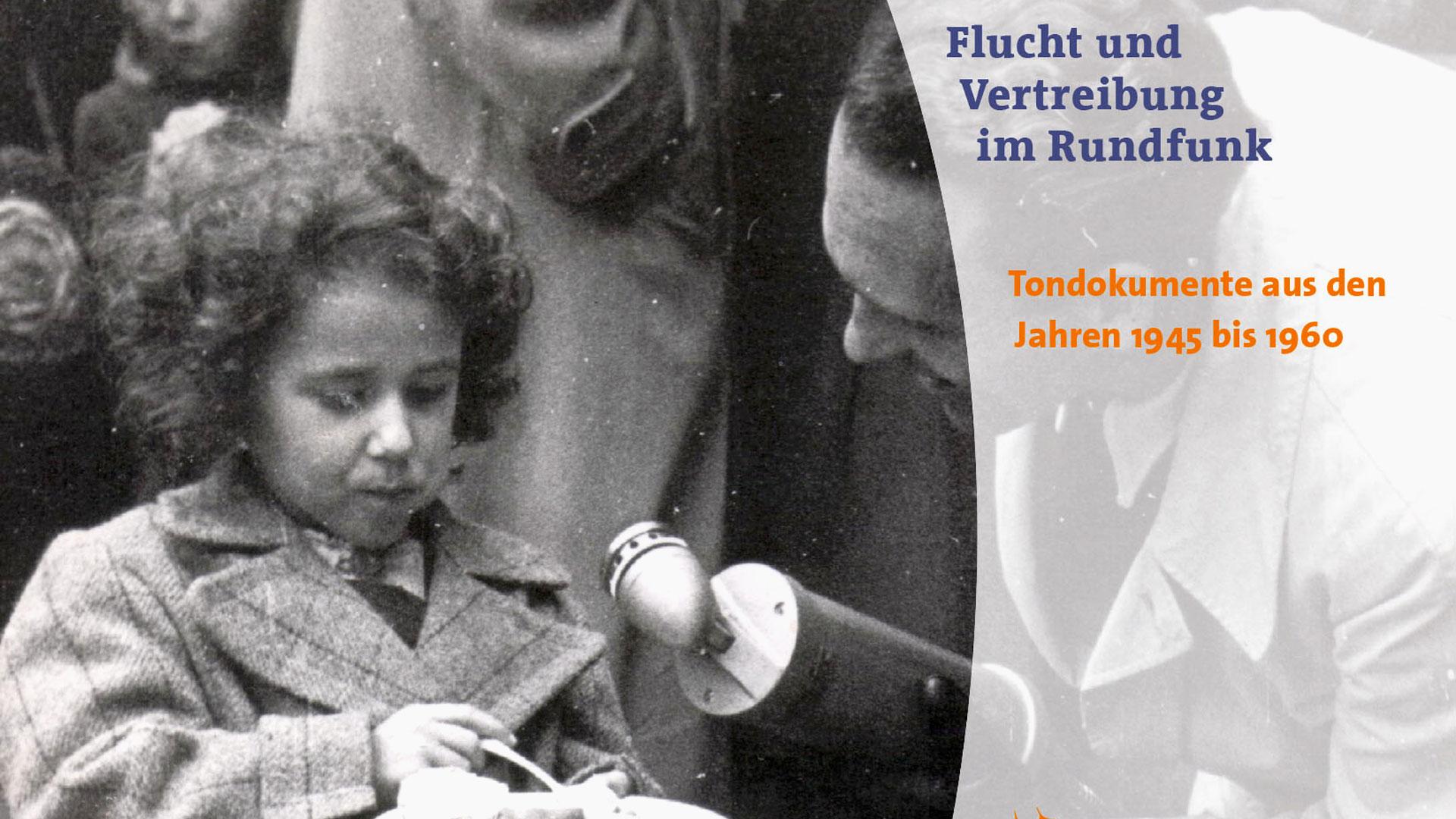 """CD-Titel """"Flucht und Vertreibung"""".   Bildquelle: Verlag Hans-Bredow-Institut"""