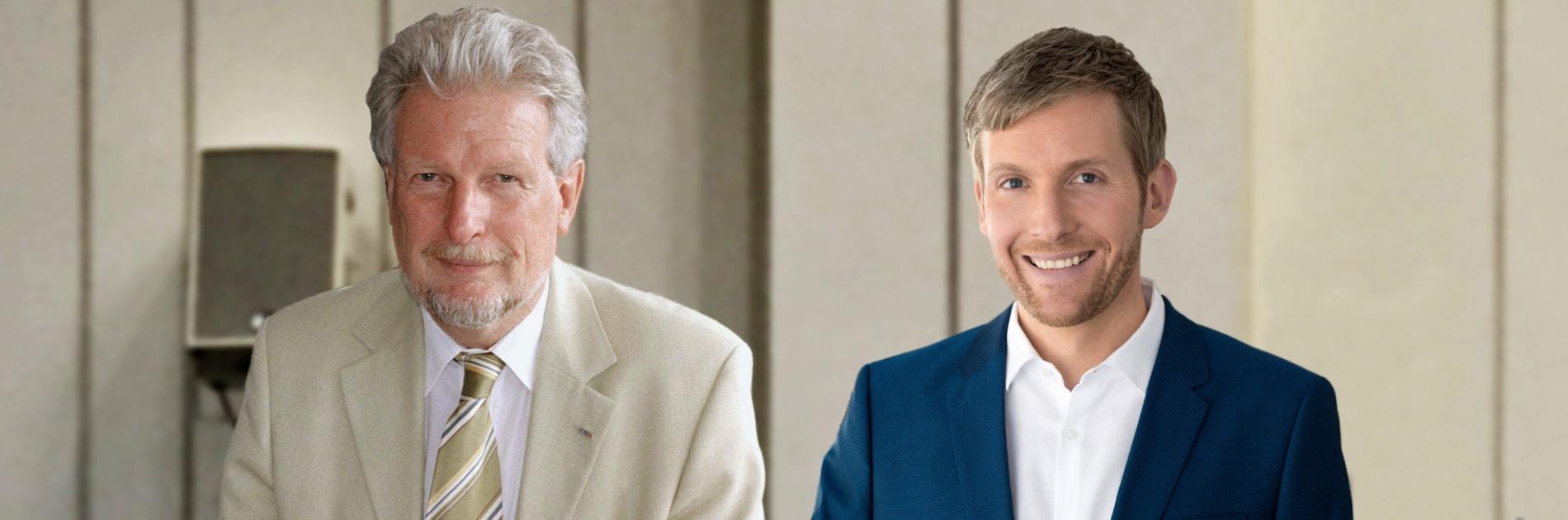 Prof. Peter Voß und Clemens Bratzler. | Bildquelle: WDR