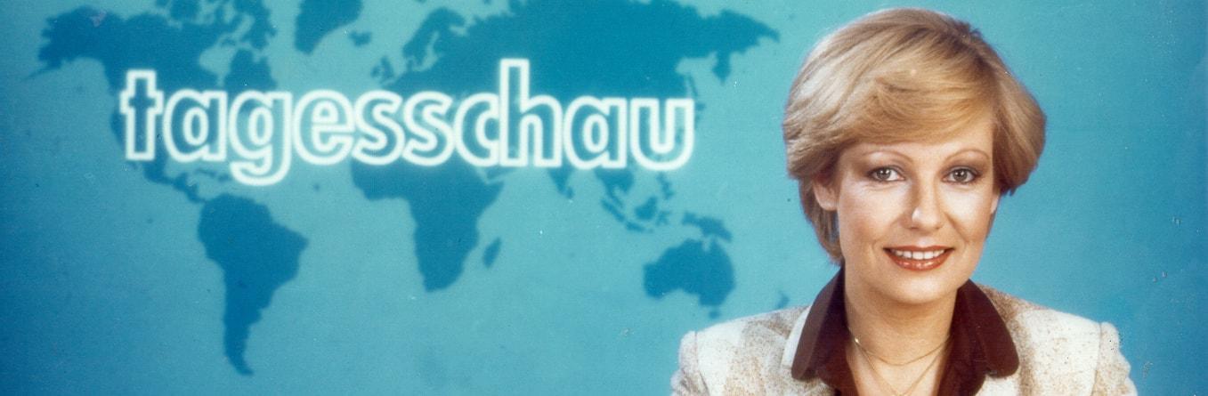 Die erste Tagesschau-Sprecherin Dagmar Berghoff.   Bildquelle: WDR